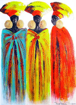 Zulu Ladies by Tracey Armstrong