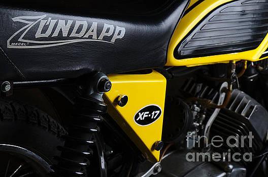 Angelo DeVal - Classic Zundapp bike XF-17 side view