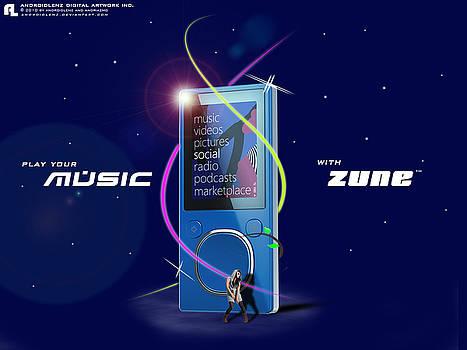 Zune by Samuel Adi