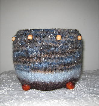 Zuni Fiber Wedding Pottery by Patricia Maxwell
