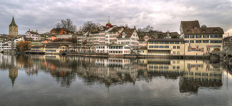 Zurich Panorama by Besar Leka