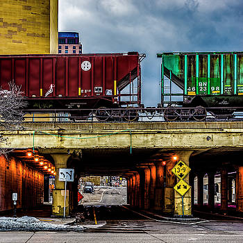 000 - Lowertown Overpass by David Ralph Johnson