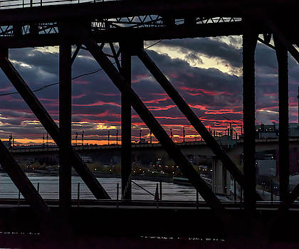 008 - Trestle Sunset by David Ralph Johnson