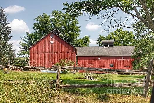 0348 - Hollow Corners Star Barns by Sheryl L Sutter