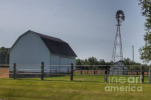 0352 - M-90 White and Windmill II by Sheryl L Sutter