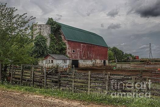 0376 - West Hunters Creek Road Red III  by Sheryl L Sutter