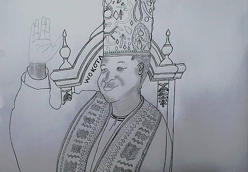 A Young His Royal Highness Kabaka Ssabasajja Ronald Edward Frederick Kimera Muwenda Mutebi II  by Gloria Ssali