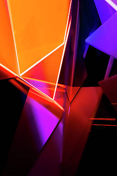 Abstract Acrylic Structures by Colormos