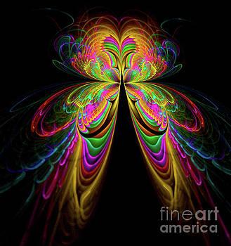 Abstract Art Butterfly by VivianFitArt