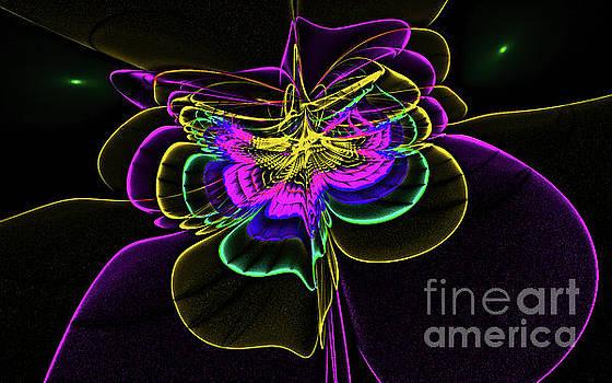 Abstract Art Floral by VivianFitArt