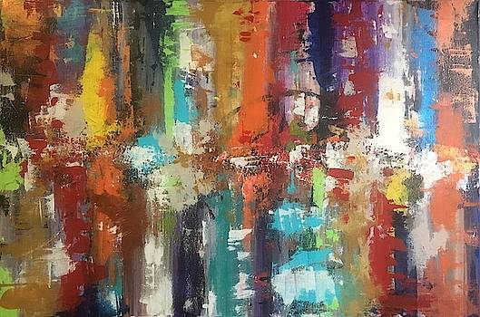 Playing with Color III by Crystal Stagg