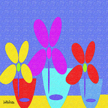 Abstract Floral Art 388	 by Miss Pet Sitter