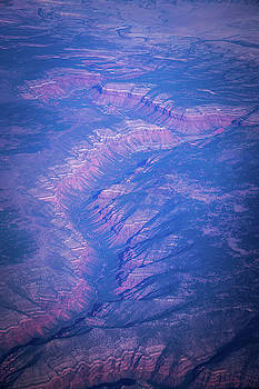 Aerial Over Grand Canyon Parashant National Monument by Alex Grichenko