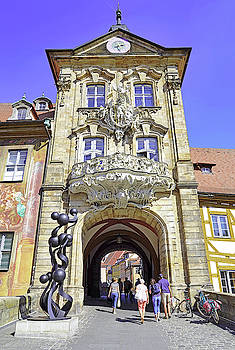 Altes Rathaus In Bamberg Germany by Richard Rosenshein