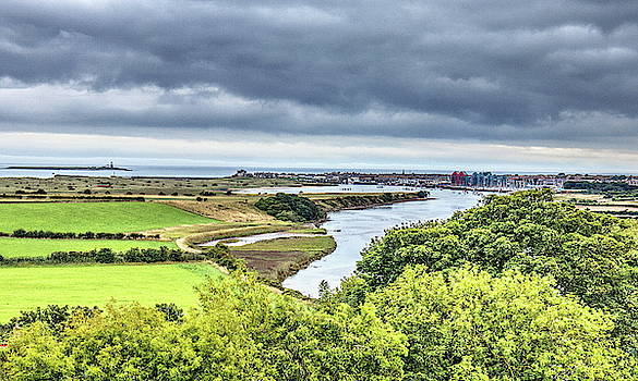 Amble And The River Coquet by Jeff Townsend