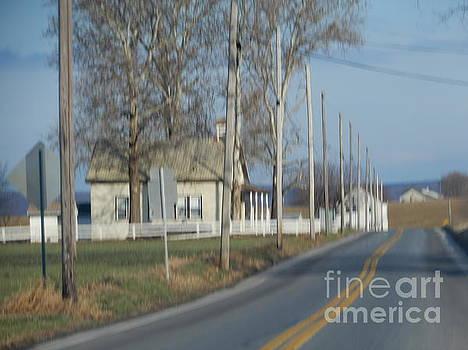 Christine Clark - Amish Schoolhouse in December
