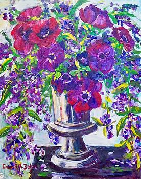 Anemones by Ingrid Dohm