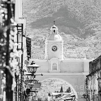 Tim Hester - Antigua Guatemala Black and White