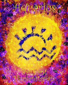 Aquarius Sun Sign by Carol Stanley