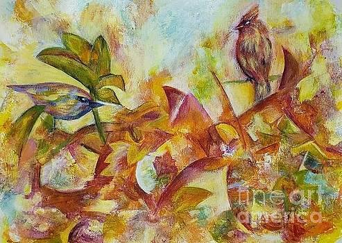 Autumn fantasies by Olga Malamud-Pavlovich