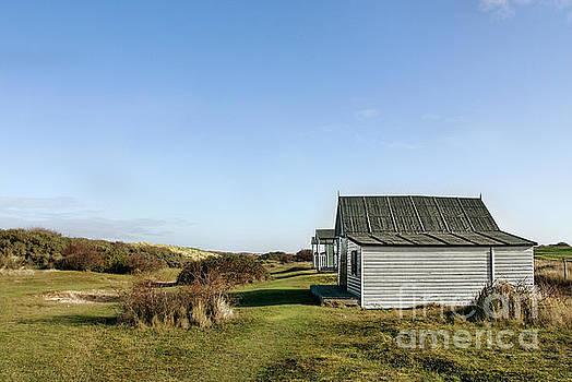 Beach Huts at Old Hunstanton by John Edwards
