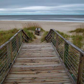 Beach Walkway by Nick Noble