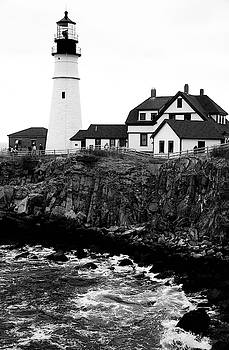 Black And Lighthouse by Yellow Caf�