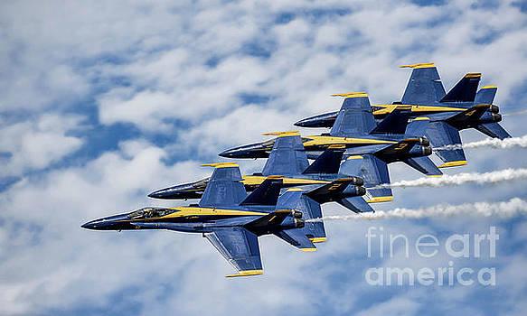 Blue Angels #8 by Warrena J Barnerd