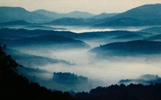 Blue Ridge Mountains by Peggy Leyva Conley
