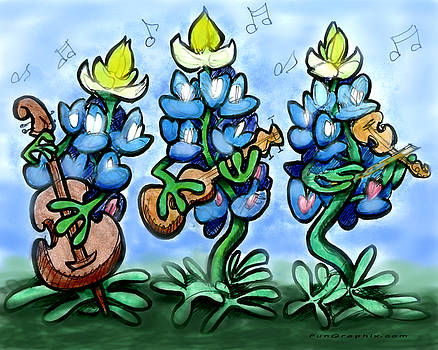 Blues Bonnets by Kevin Middleton