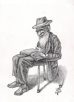 Bookish Man by Victor Molev