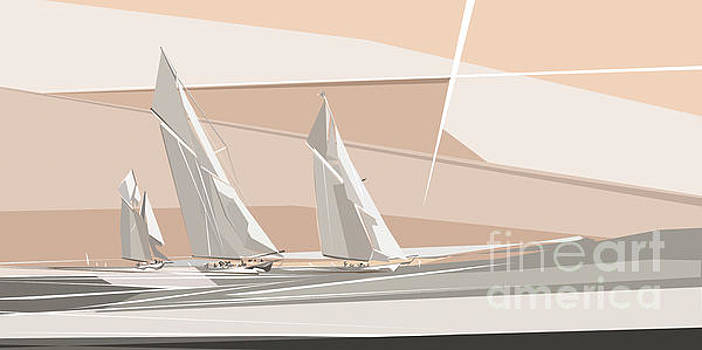 C-Class Yachts  by Wendy Thompson