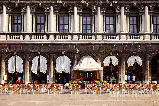 Brian Jannsen - Caffe Florian Venice Italy