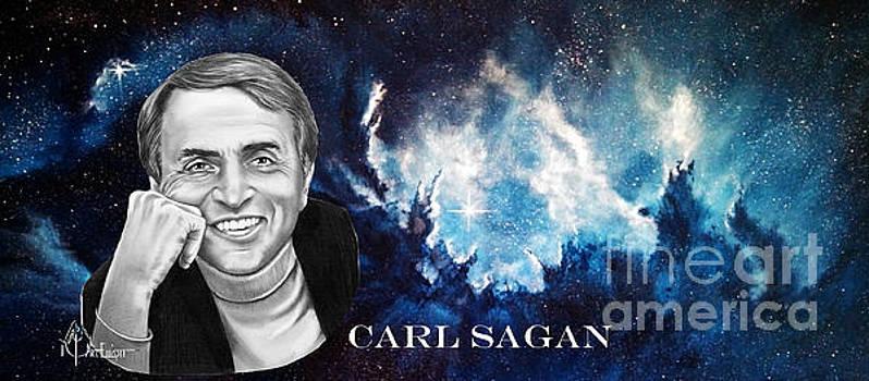 Carl Sagan  by Murphy Elliott
