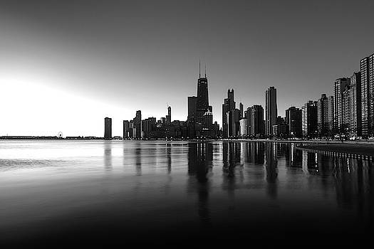 Chicago Lakefront Dawn by Steve Gadomski