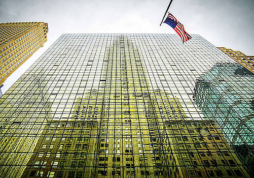 Chrysler Building Reflections by June Marie Sobrito