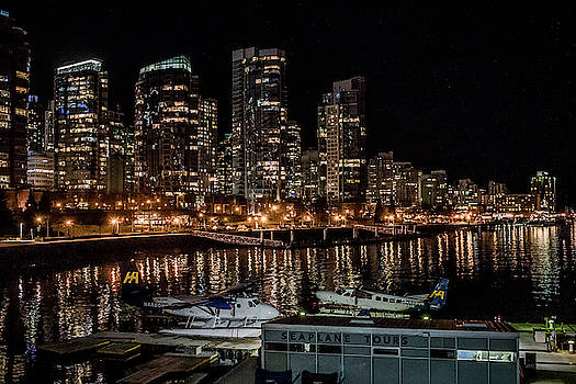Ross G Strachan - Coal Harbour By Night