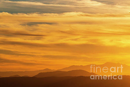 Collegiate Peaks Sunset by Steve Krull