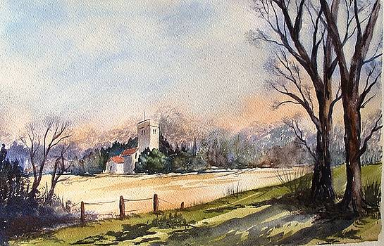 Country Church by Anne Kerr