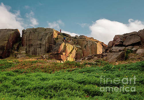 Mariusz Talarek - Cow and Calf Rocks in Ilkley