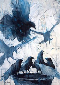 Crow Caucus by Sarah Yeoman