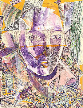 Cut Portrait by Jeremy Robinson