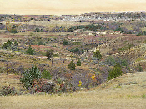 Dakota West September Prairie by Cris Fulton