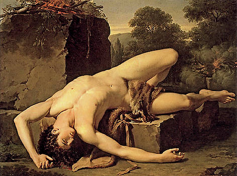 Death Of Abel by Francois Xavier Fabre