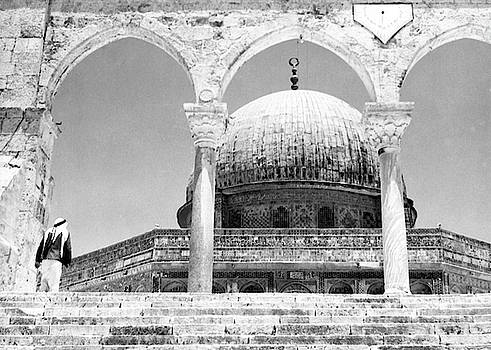 Dome of the Rock Arches by Munir Alawi