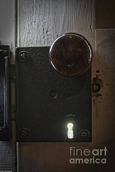 Doorknob And Keyhole by Mitch Shindelbower