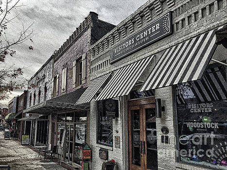 Downtown Woodstock by Tom Gari Gallery-Three-Photography