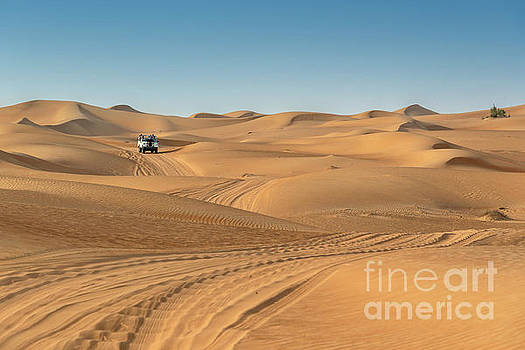 Dubai desert by Delphimages Photo Creations