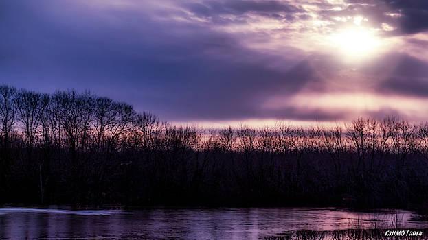 Early Spring Sunrise in New Brunswick #02 by Ken Morris