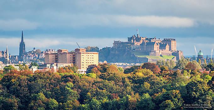 Edinburgh castle  by Fabio Gomes Freitas
